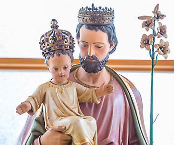 Shrine of St. Joseph relocated, solemn novena underway ...