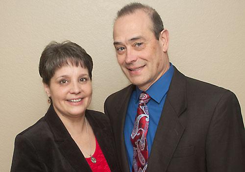 Deacon-candidate Dan Zajicek and Diane Zajicek. (Rick Evans | For The Compass)