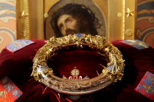 Sainte-Chapelle in Paris Crown of Thornes